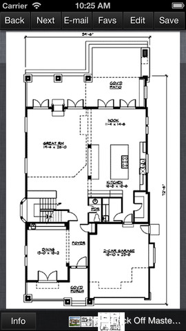 Craftsman House Design - Family Home Plans 1.0 App for iPad, iPhone