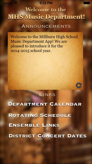 MHS Music music making program