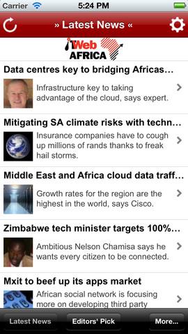 ITWebAfrica Lite