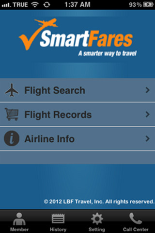 SmartFares for iOS cheap printing