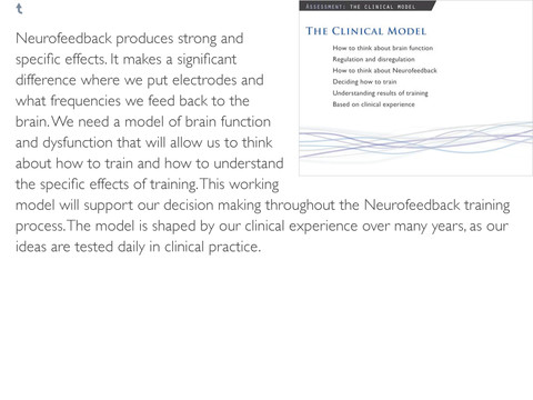 Protocol Guide: For Neurofeedback Clinicians
