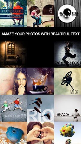 After Photo - Caption, Text, and Beautiful Message Over Your Pic