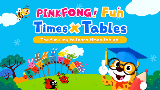PINKFONG! Fun Times Tables - Times Tables Songs, Skip Counting and Times Table Games coffee tables