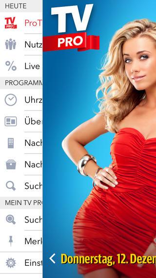 TV Pro 2 NEU Dein TV Programm · So plant man den TV Abend - von equinux tv projectors