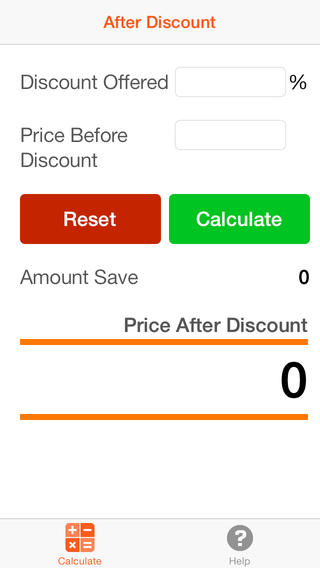 After Discount discount