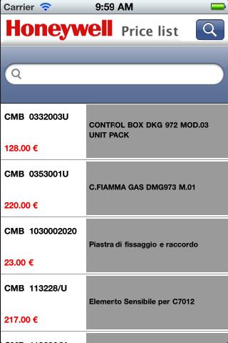 Honeywell Price List quintana roo price list