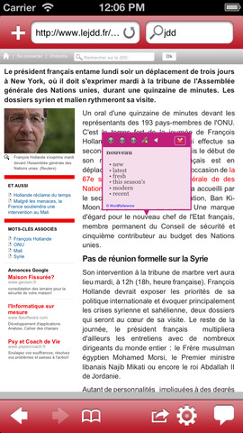 Read the World lite - Translate the Web