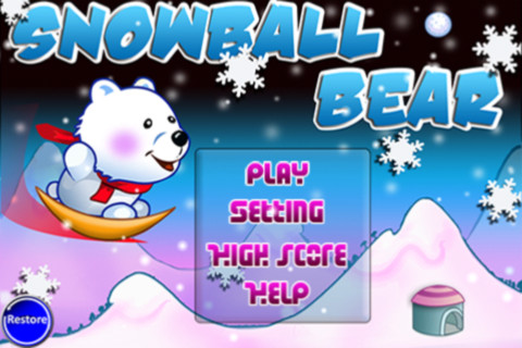 Snow Ball Bear - Free Version 1.0