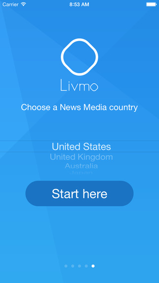 Livmo / App that reading aloud, in an automated voice, the latest news from the country of your choice. With translation function. news reading app