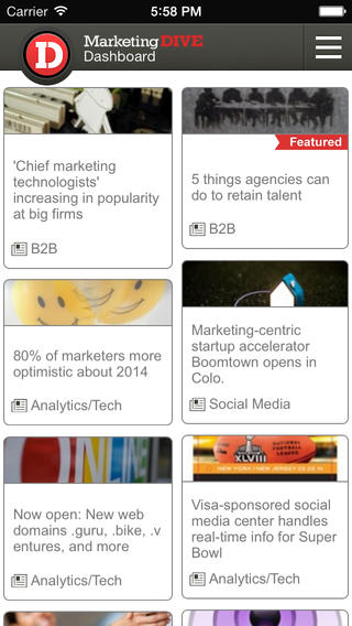 Marketing Dive - news and jobs jobs in marketing