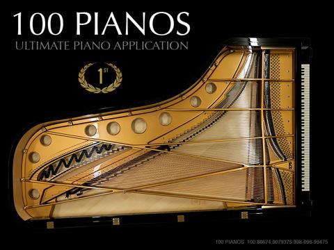 100 Pianos kids pianos