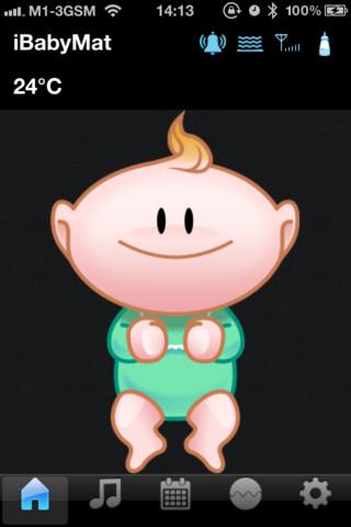 iBabyMat wifi baby monitoring system
