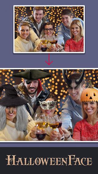 HalloweenFace costumes for halloween