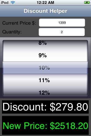Discount Helper discount