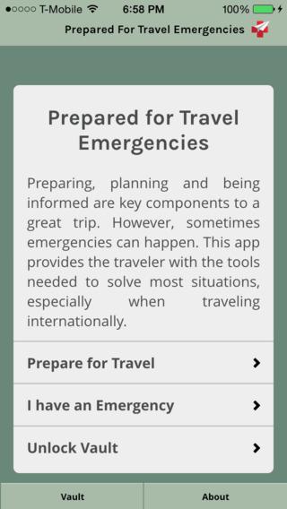 Travel Emergencies emergencies essentials