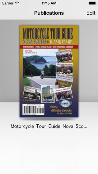 Ride Atlantic Canada atlantic provinces climate