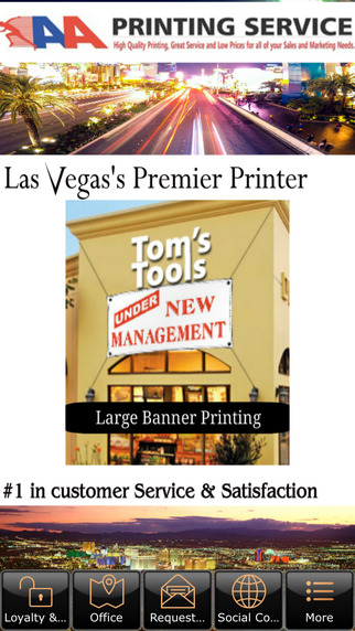 AA PRINTING LAS VEGAS vista printing business cards