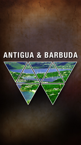 Antigua and Barbuda Offline Map Travel Guide antigua barbuda map