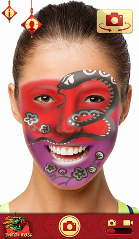 Mojo Masks Chinese New Year - Add Fun Face FX to your photos/videos and share 1.0.0