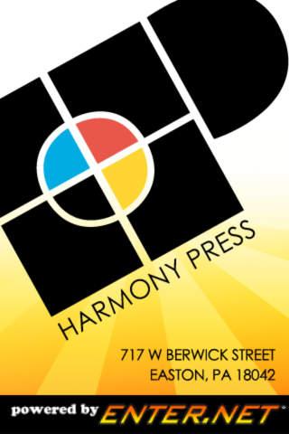 Harmony Press printing press history