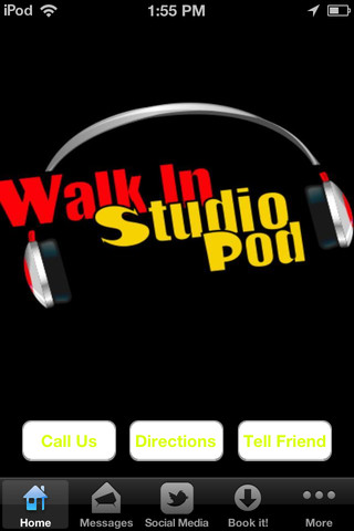 Walk in studio pod