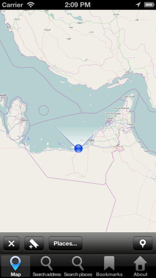 Map United Arab Emirates (UAE): City Navigator Maps united arab emirates map