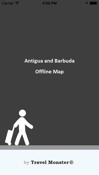 Antigua and Barbuda Vector Map - Travel Monster antigua barbuda map