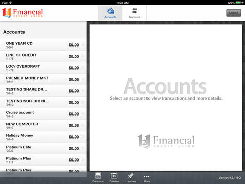 121 Financial Mobile Banking