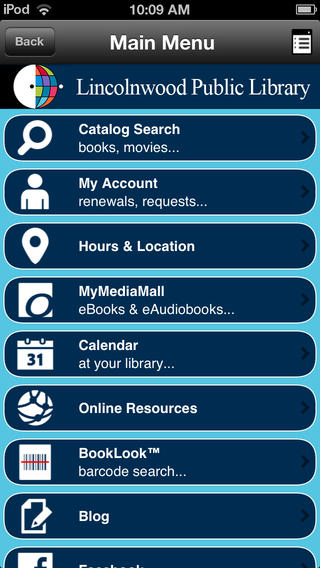 Lincolnwood Public Library free public online library