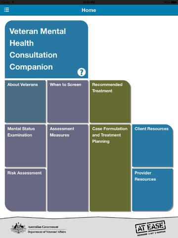 The Veteran Mental Health Consultation Companion (VMHC²) mental health services