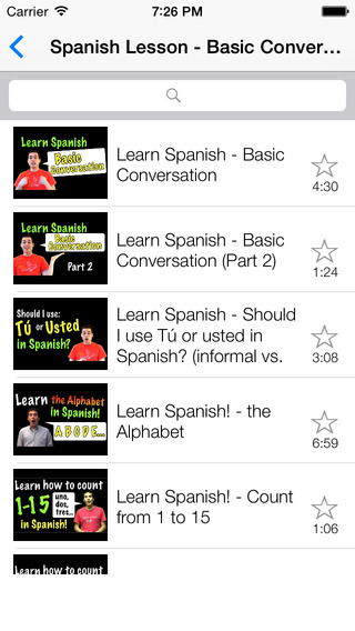Learn Spanish - Learn With Video learning spanish online