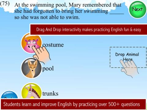 Animals Learn English - Second Grade