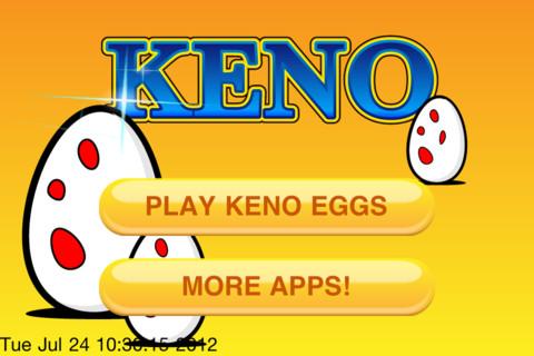 keno eggs game