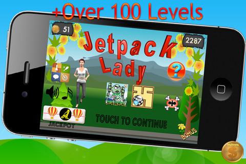 Jetpack Lady