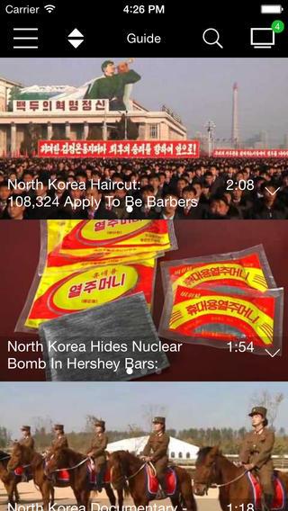North Korea TV north korea president