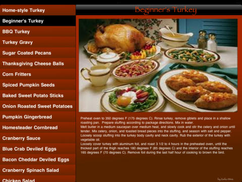 Thanksgiving Gourmet thanksgiving recipes pdf