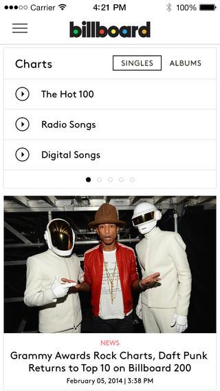 Billboard - Music Charts, Music News, Celebrity Photos & Free Music Video music audiomack