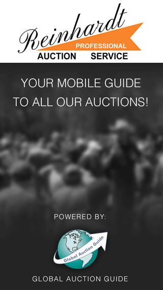 Reinhardt Live Auction Calendar bowling equipment auction
