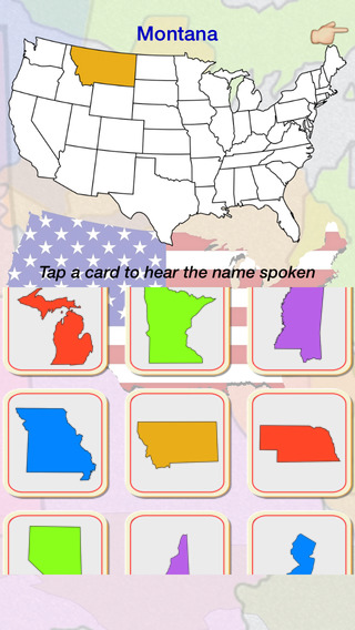 States AV - A game of recall for states and provinces (U.S., Mexico, Canada) baltic states