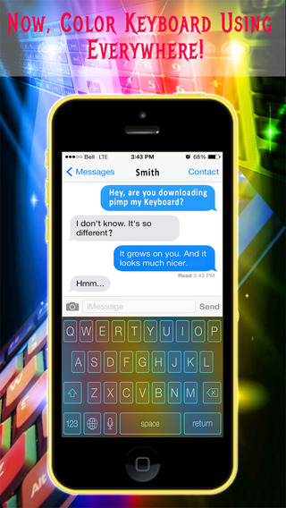 Magic Keyboards - Color Keyboards for iOS 8 smartphones with keyboards