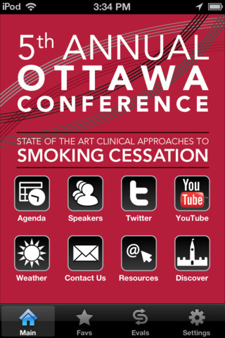 OMSC`s Ottawa Conference: Clinical Approaches to Smoking Cessation