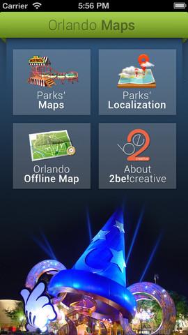 Orlando Maps offline maps download