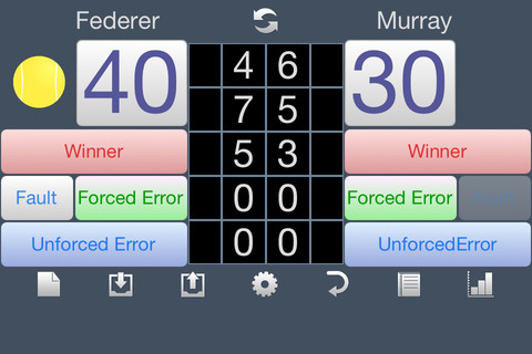 Score Analyzer for Tennis 1.0