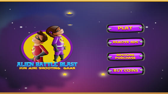 Alien Battle Blast: Fun Mini Shooting Games Free fun ipad mini games