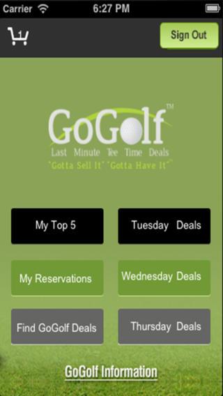 Go Golf - 72 Hour Tee Time Deals golf equipment deals