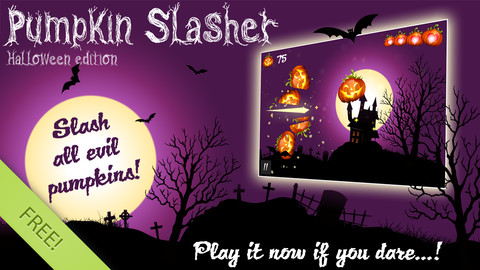 Pumpkin Slasher - slice and smash pumpkins like a ninja