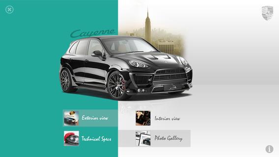 Porsche Cayenne Augmented Reality - unofficial porsche cayenne