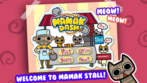 Mamak Dash - Fast Food Frenzy