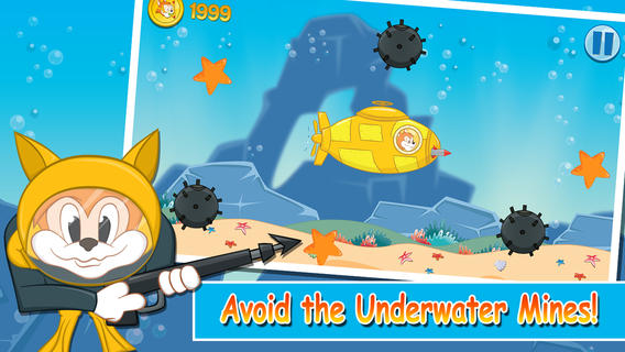 ... vs Hungry Shark - Fun Underwater Game for boys and girls iPhone iPad