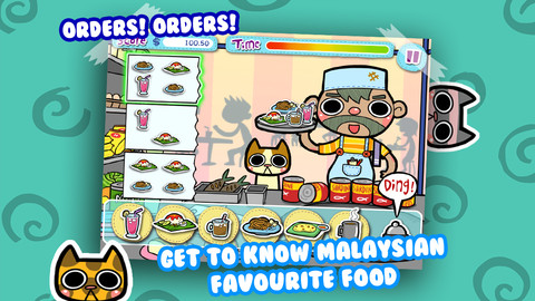 Mamak Dash - Fast Food Frenzy